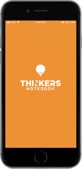 thinkenotebook splash screen