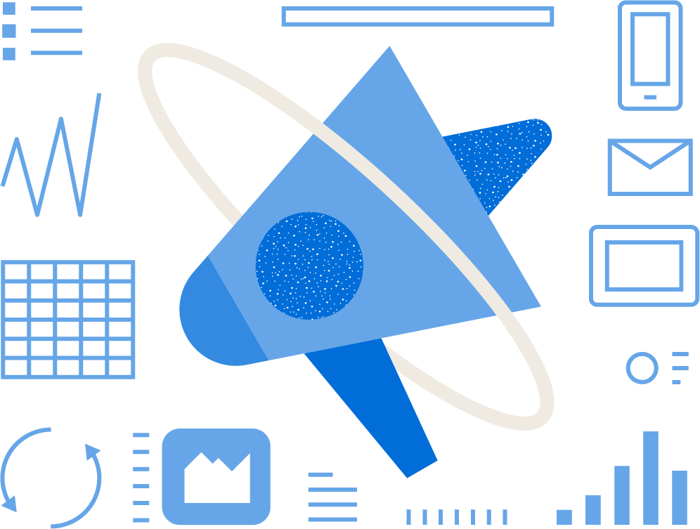 Recrring campaigns Custom illustration