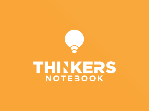 Thinkers Notebook - Cover photo
